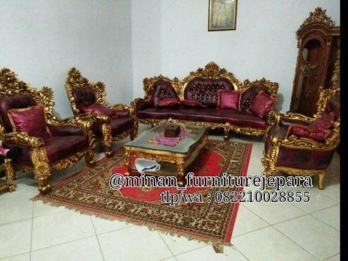 sofa ukir royal barcelona