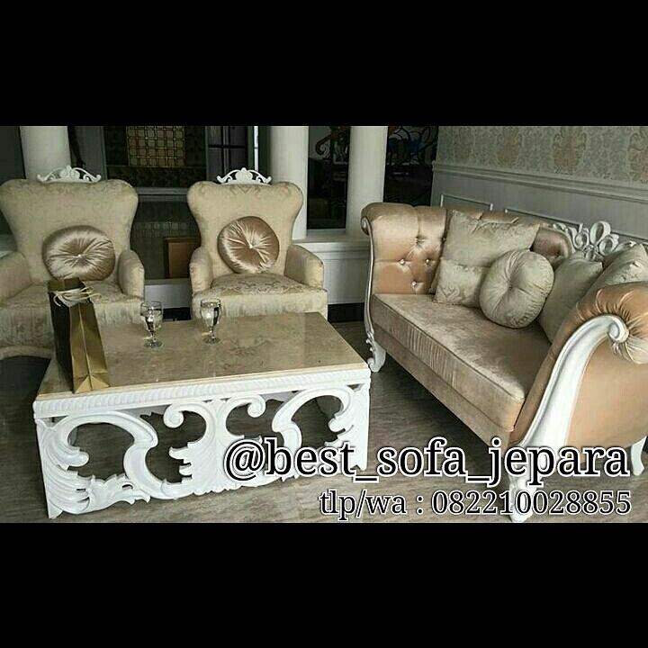 Set Sofa Tamu Ukir Mahkota