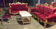 Set Sofa Tamu Ukir Gold