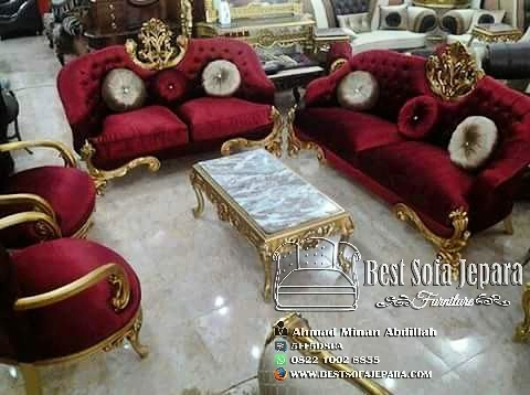Set Sofa Tamu Ukir Sweet