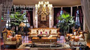 Set Sofa Tamu Ukir Model Eropa