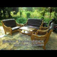 Set Sofa Tamu Ukir Juliah Mewah