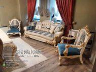 Set Sofa Mewah Duco Emas