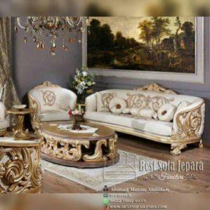 Sofa Tamu Carving Super Luxury