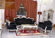Sofa Tamu Silver Rebecca