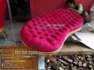 Set Sofa Lengkung Ukir