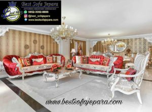 Set Sofa Tamu Eropa klasik