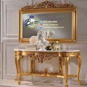 Konsul Cermin Gold Glossy