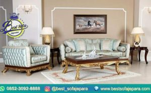 Sofa Tamu Ukir Venesia